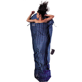 Cocoon MummyLiner Silk checked silk